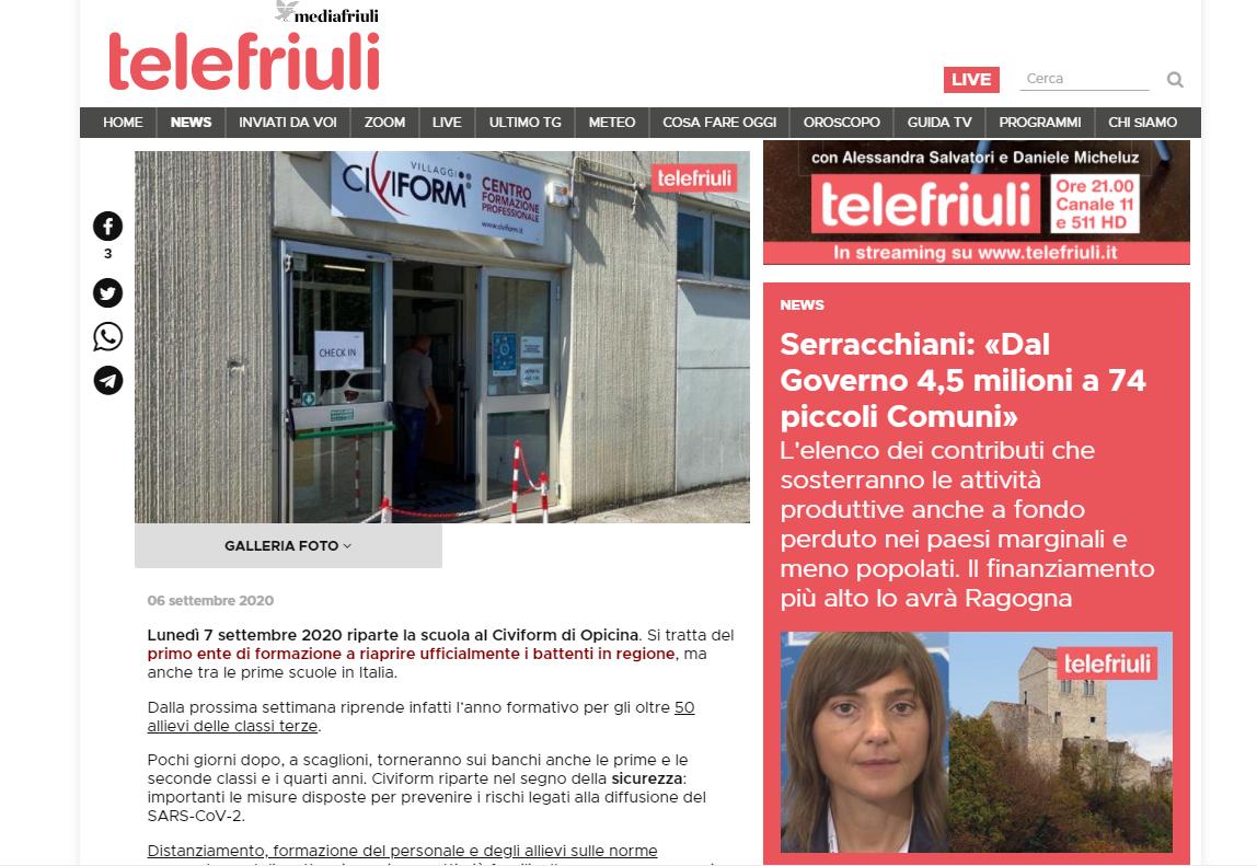 Telefriuli Civiform Trieste